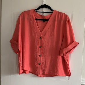 George Button Down Top